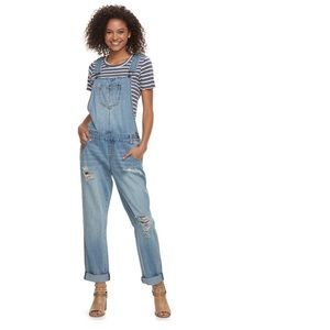 AMERICAN RAG Distressed Overalls